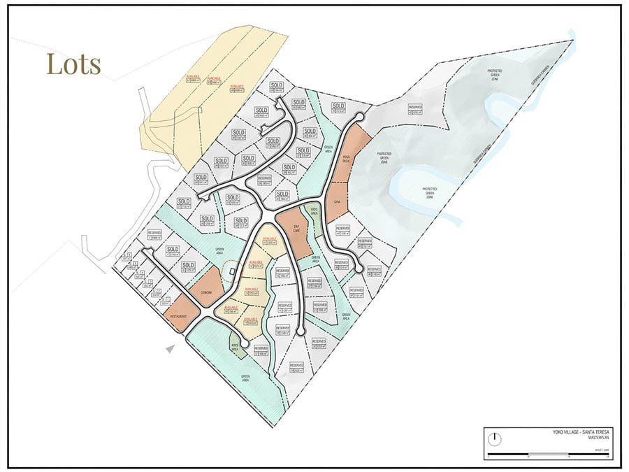 Map of Yoko Village